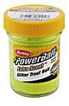 Berkley Power Bait chartreuse glitter Forellen-Teig