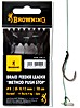 Browning Braid Feeder Leader Method Push Stop Gr.4 0,14mm 10cm