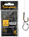Browning Feedervorfach Trophy Fisch Gr. 10 0,25mm 75cm mit Madenclip