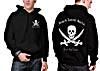 Black Label Baits Hoodie schwarz Sweatshirt