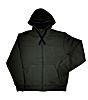 Fox Green Black heavy lined Hoodie Gr.L