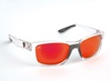 Fox Rage Sunglasses Wraps Frame Clear / Grey-Red