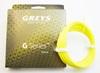 Greys G- Series Flyline 25m Spule leuchtend gelb schwimmend