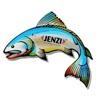 Jenzi Fisch Aufkleber
