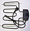 Elektrische Heizung für Räucherofen 2000W