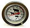 Räucherthermometer 120°C klein