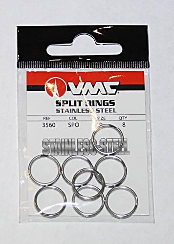 VMC Split Rings Gr.9 72kg 8 St/ück